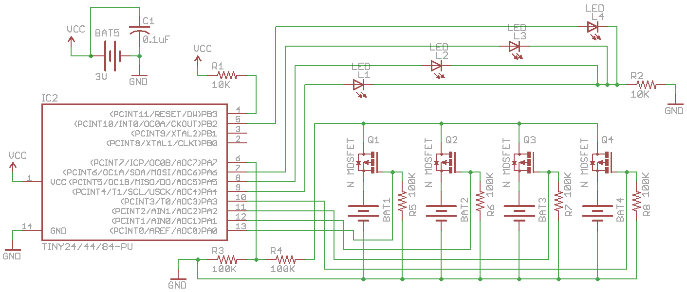 Low Voltage Battery Monitor Insidegadgets Cell Led Driver Circuit Schematic Pcb Guide