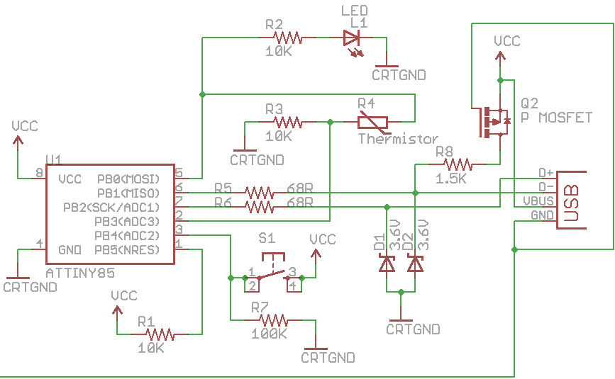 Using an external EEPROM with the Standalone Temperature Logger