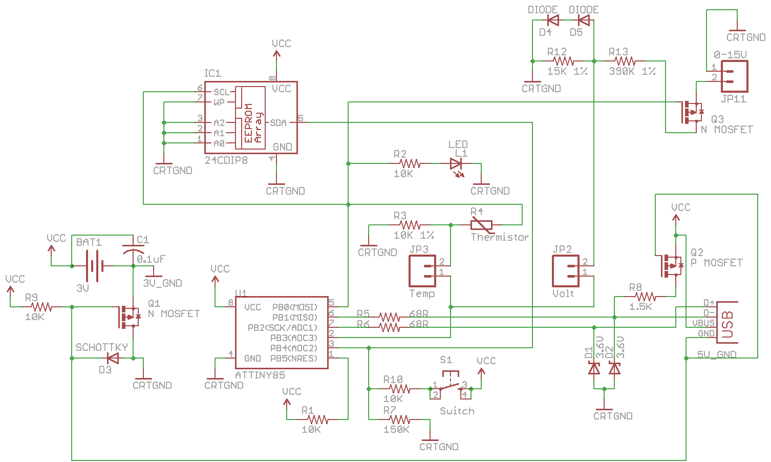 Sd Card Power Control Circuit Best Electrical Schematic Diagram Triac Motor Temperature Data Logger And Electric Heater
