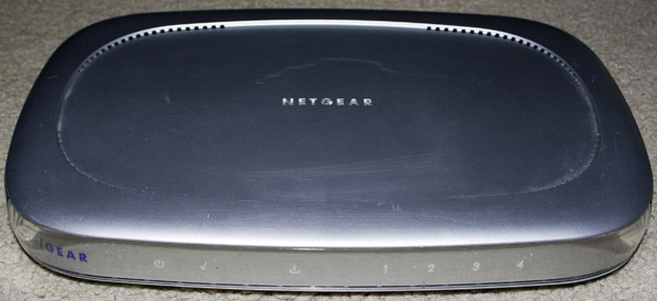 Inside the Netgear DG814 DSL Modem Internet Gateway