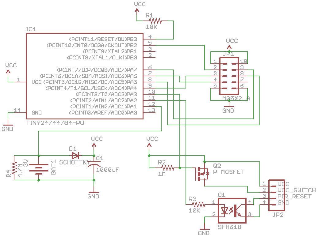 Alarm system modification – Part 6: PIR PCB « insideGadgets