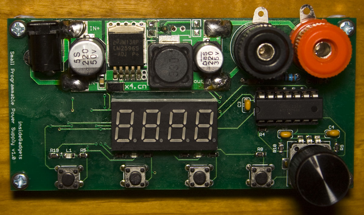 Small Programmable Power Supply