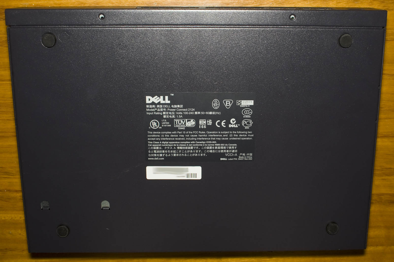 Inside the Dell Power Connect 2124 24 Port 10/100 Switch (Dated 2003 ...