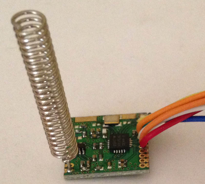 Wireless module SI4432 240-960mhz 1000meters long distance
