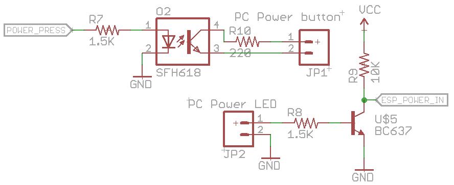 Building an ESP8266 PC Power Cycler « insideGadgets