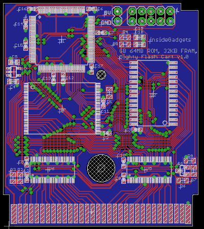 Building a 2MB MBC5 Gameboy Cart – Part 7: Adding Multi-game