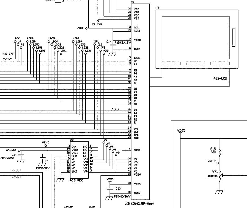 insideGadgets Gameboy Color Wiring Diagram on